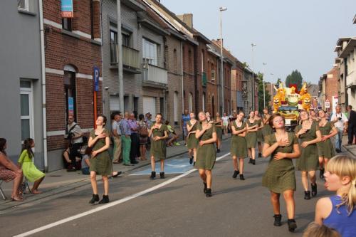 Bloemencorso Sint-Gillis 2014